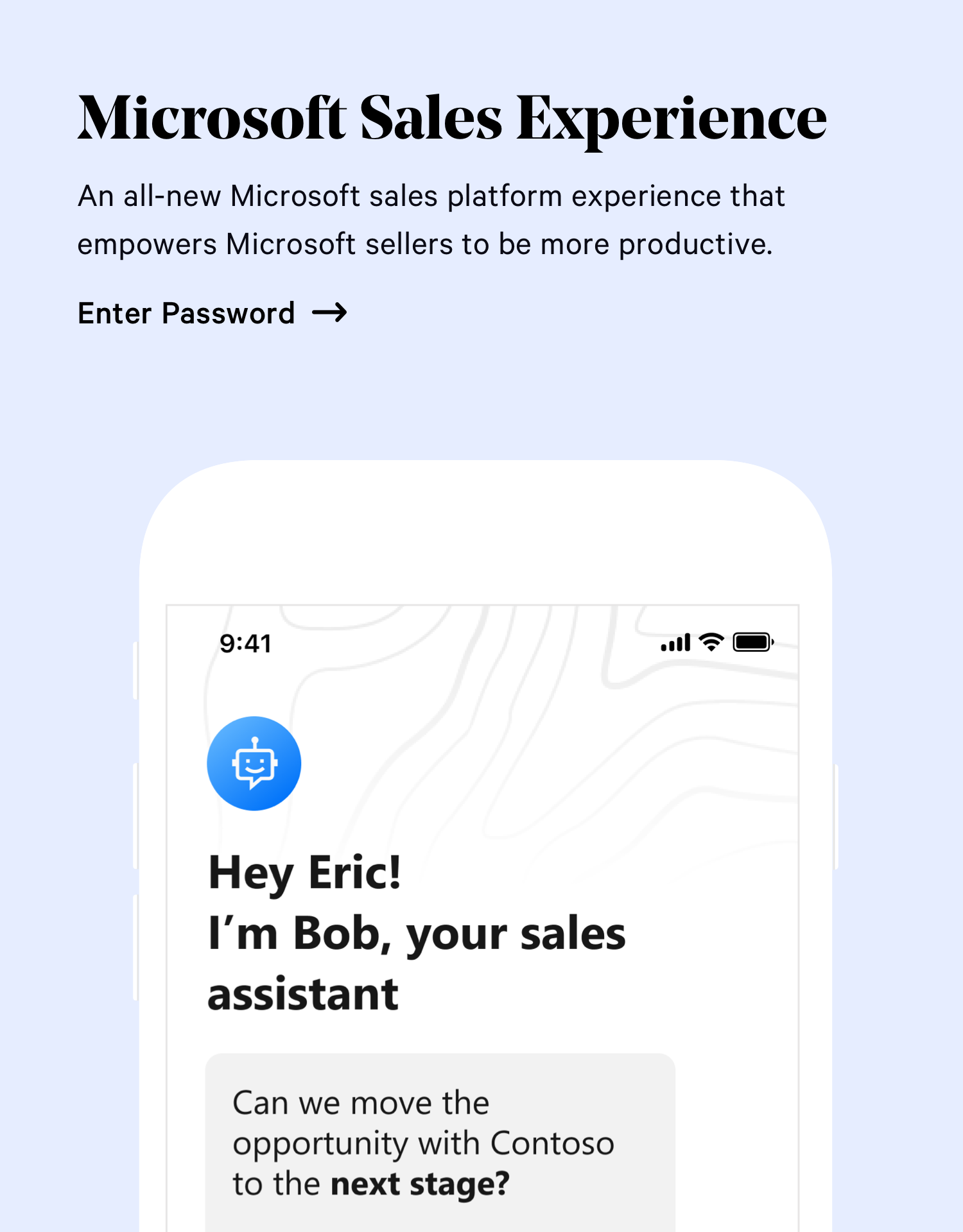 Microsoft Sales Experience
